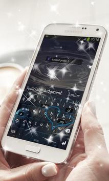 Distant Earth Keyboard Theme apk screenshot
