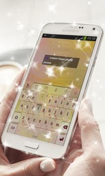 Eel Capuchin Keyboard Theme apk screenshot