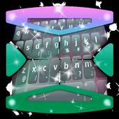 Futuristic lights Keyboard icon