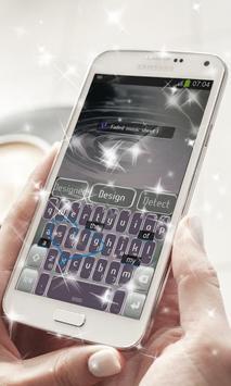 Faded music sheet Keyboard apk screenshot