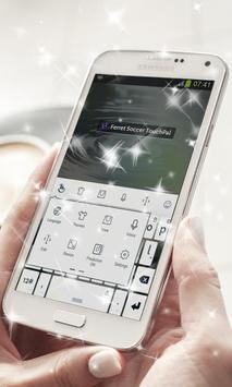 Ferret Soccer Keyboard Theme apk screenshot