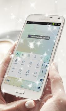 Frozen lightning Keyboard apk screenshot