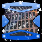 Galaxy spin Keyboard Theme icon