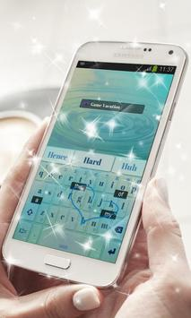 Game Vacation Keyboard Theme apk screenshot