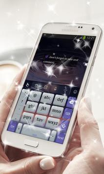 Glossy Night Keyboard Theme screenshot 3