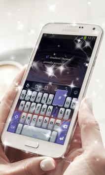 Glossy Night Keyboard Theme screenshot 8