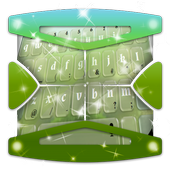 Glowing Green Keyboard Theme icon