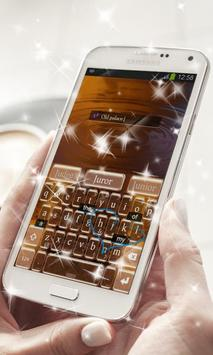 Golden Path Keyboard Theme apk screenshot