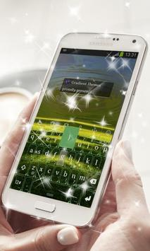 Green Field Keyboard Theme poster