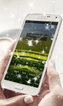 Green Field Keyboard Theme apk screenshot