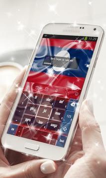 Laos Keyboard Theme apk screenshot