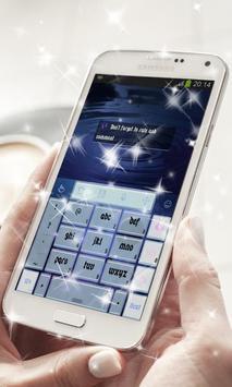 Purple star cluster Keyboard screenshot 3
