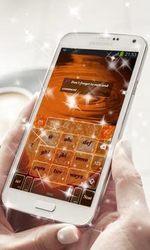 Solar Flame Keyboard Theme apk screenshot