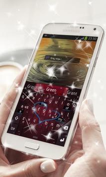 Vampire Ninja Keyboard Theme screenshot 2