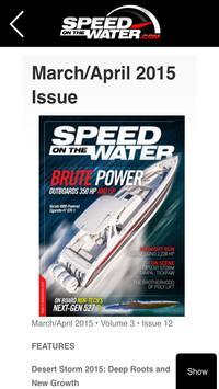 Speed On The Water apk screenshot