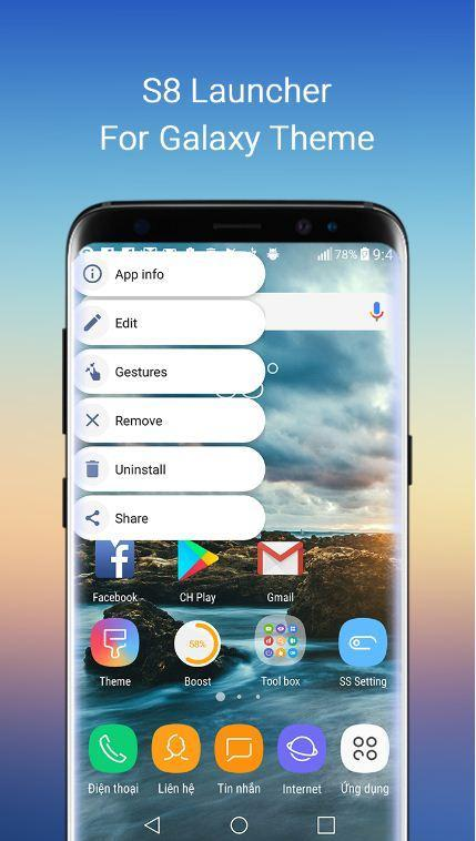 S8 themes – Galaxy Launcher for Android - APK Download