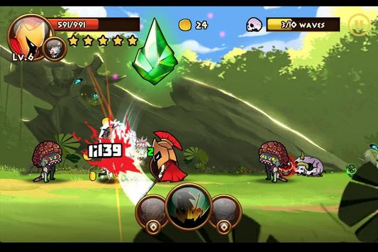 Brave Warriors: Zombie Revenge apk screenshot