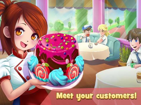 甜品連鎖:咖啡店女服務生 截圖 4
