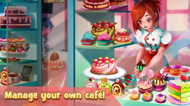 甜品連鎖:咖啡店女服務生 截圖 6