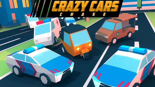 Crazy Cars Chase poster