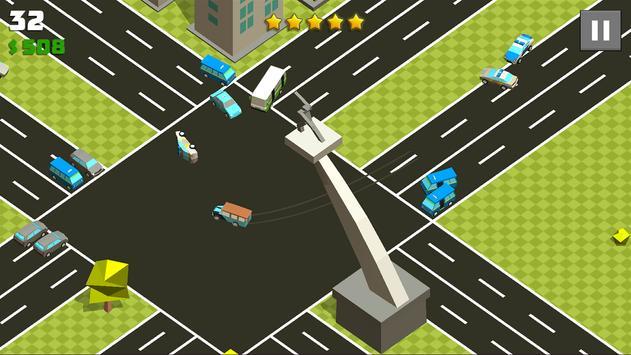 Crazy Cars Chase screenshot 2