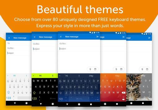 Keyboard SwiftKey apk screenshot