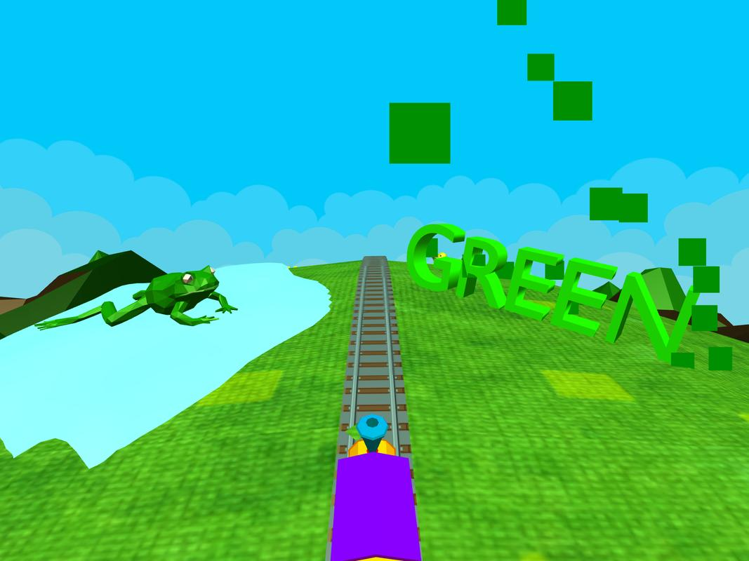 Learn Colors - 3D Train Game For Preschool Kids APK Download - Free ...