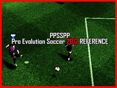 New ppsspp Pro evolution soccer 2012 tips for Android - APK