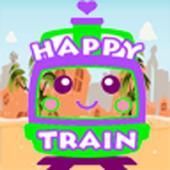Happy Rail Train Kids Stars icon
