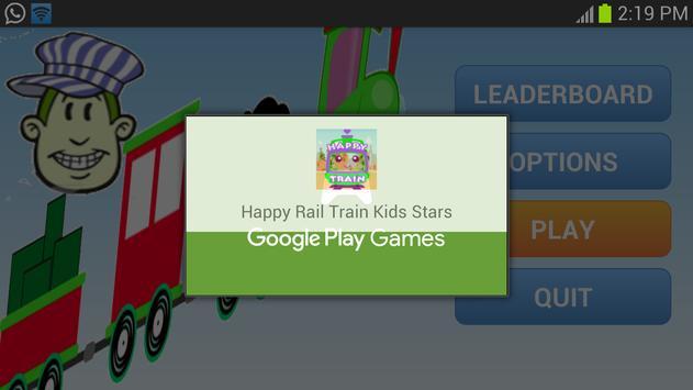 Happy Rail Train Kids Stars screenshot 14