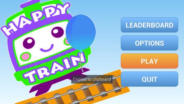 Happy Rail Train Kids Stars screenshot 1