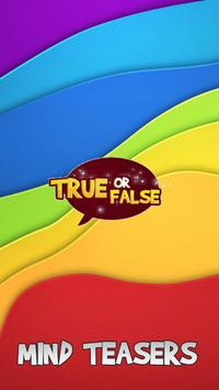 True Or False 2016 poster