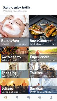 touristtablet mobile poster