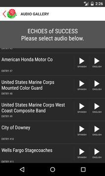 Rose Parade Program screenshot 3