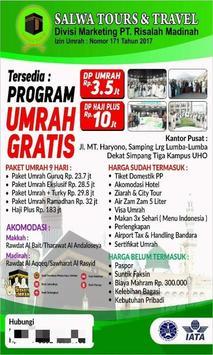 SALWA TOURS poster
