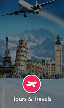 Tours and Travels - Mobile Application poster