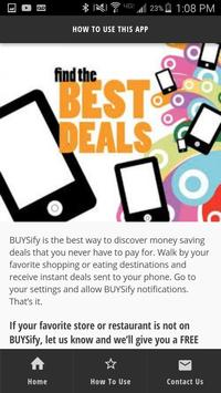 BUYSify - BUYS In Front of You apk screenshot