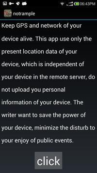NoTrample screenshot 3