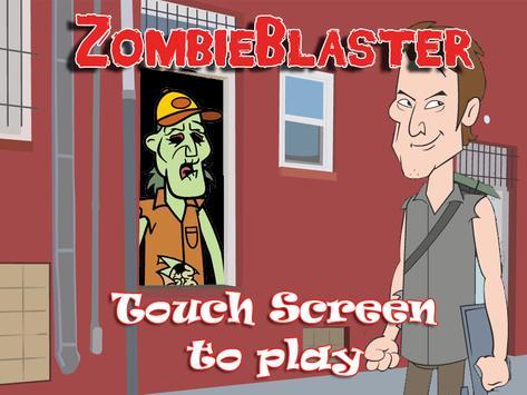 Zombie Blaster apk screenshot