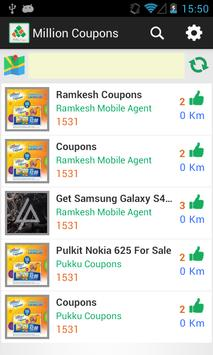 Million Coupons apk screenshot