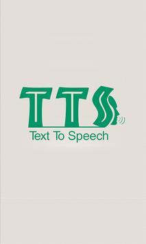 Text 2 Speech poster