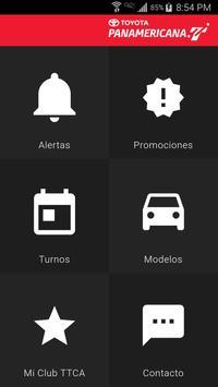 Toyota Panamericana Mobile poster