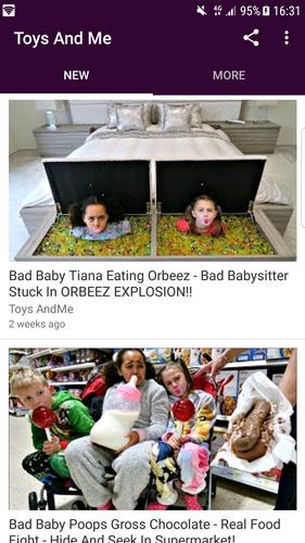 Get Food Fight Bad Baby Tiana