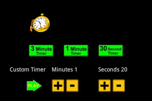 Game Turn Timer Clock screenshot 2