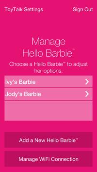 Hello Barbie Companion App screenshot 2