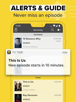 TV Time,追剧向导 apk 截图