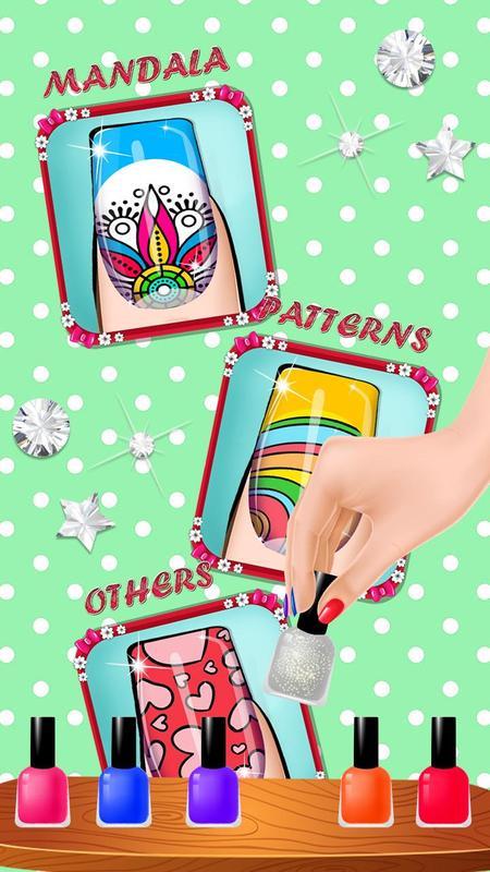 Uña Salón Colorante Libro - Uña it Color & Diseño for Android - APK ...