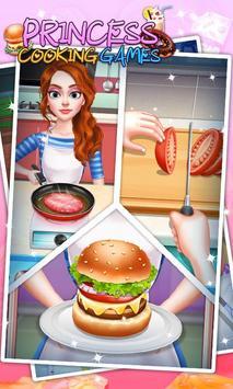 Princess Cooking Games poster