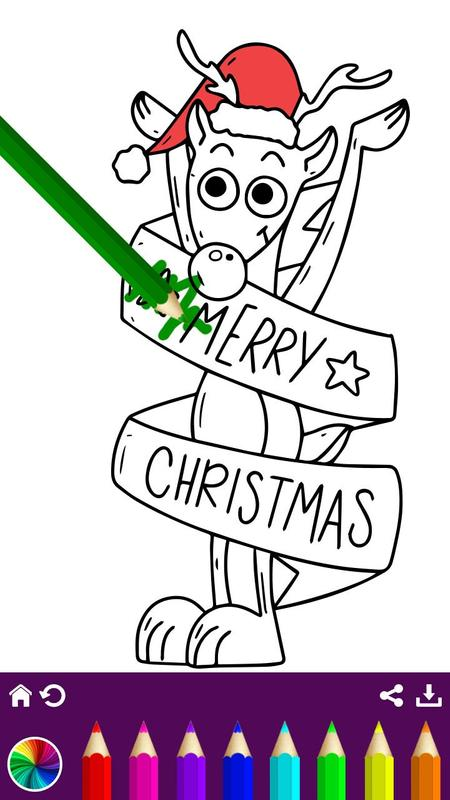 christmas coloring book 2018 xmas fun screenshot 7