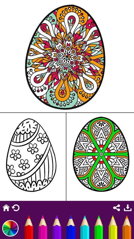 Libro de colorante de huevo - pintura de huevo for Android - APK ...
